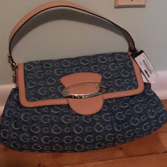 Guess by Marciano Bags   Denim Bag With Shoulder Strap   Poshmark c384e90718